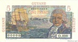 5 Francs Bougainville GUYANE  1946 P.19a B