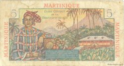 5 Francs Bougainville MARTINIQUE  1946 P.27a TB