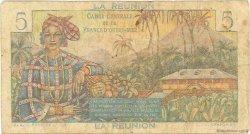 5 Francs Bougainville ÎLE DE LA RÉUNION  1946 P.41a B