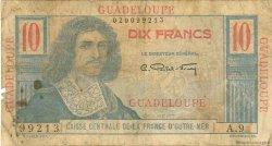 10 Francs Colbert GUADELOUPE  1946 P.32 B
