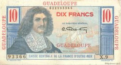 10 Francs Colbert GUADELOUPE  1946 P.32 TTB