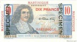 10 Francs Colbert MARTINIQUE  1946 P.28s pr.NEUF