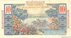 10 Francs Colbert MARTINIQUE  1946 P.28 TTB