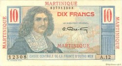 10 Francs Colbert MARTINIQUE  1946 P.28 SPL+