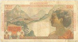 100 Francs La Bourdonnais GUADELOUPE  1946 P.35 TB+