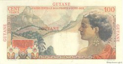 100 Francs La Bourdonnais GUYANE  1946 P.23 SUP à SPL