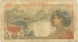 100 Francs La Bourdonnais MARTINIQUE  1946 P.31 B