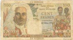 100 Francs La Bourdonnais ÎLE DE LA RÉUNION  1946 P.45a B