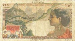 100 Francs La Bourdonnais ÎLE DE LA RÉUNION  1960 P.49a TTB+