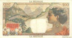 100 Francs La Bourdonnais ÎLE DE LA RÉUNION  1960 P.49a pr.TB