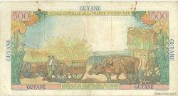 500 Francs Pointe à Pitre GUYANE  1946 P.24 TB+