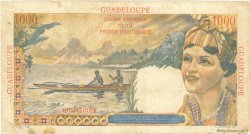 1000 Francs Union française GUADELOUPE  1946 P.37 TB+