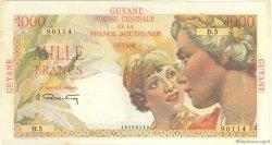 1000 Francs Union Française GUYANE  1946 P.25 pr.SUP