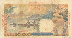1000 Francs Union Française MARTINIQUE  1946 P.33 TB