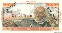 5000 Francs Schoelcher MARTINIQUE  1946 P.34s pr.NEUF