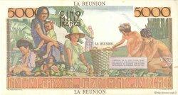 5000 Francs Schoelcher ÎLE DE LA RÉUNION  1960 P.53s SUP