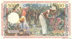 5000 Francs Antillaise GUYANE  1955 P.28s pr.NEUF