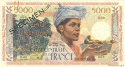 5000 Francs Antillaise MARTINIQUE  1955 P.36s SUP+