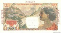 1 NF sur 100 Francs La Bourdonnais ANTILLES FRANÇAISES  1960 P.01s SUP