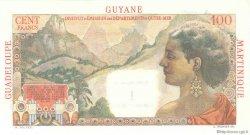 1 Nouveau Franc sur 100 F La Bourdonnais ANTILLES FRANÇAISES  1960 P.01s