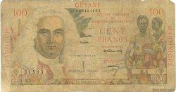 1 Nouveau Franc sur 100 F La Bourdonnais ANTILLES FRANÇAISES  1960 P.01 AB