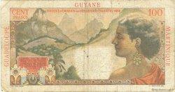 1 Nouveau Franc sur 100 F La Bourdonnais ANTILLES FRANÇAISES  1960 P.01 B