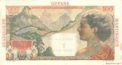 1 Nouveau Franc sur 100 F La Bourdonnais ANTILLES FRANÇAISES  1960 P.01 TTB+