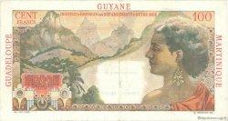 1 Nouveau Franc sur 100 F La Bourdonnais ANTILLES FRANÇAISES  1960 P.01 pr.SUP