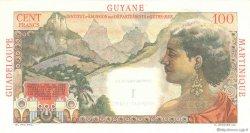 1 Nouveau Franc sur 100 F La Bourdonnais ANTILLES FRANÇAISES  1960 P.01 SPL
