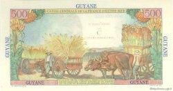 5 Nouveaux Francs sur 500 Francs Pointe à Pitre GUYANE  1960 P.30 pr.NEUF