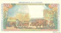 5 Nouveaux Francs sur 500 Francs Pointe à Pitre ANTILLES FRANÇAISES  1962 P.04s SUP+
