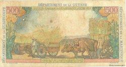 5 Nouveaux Francs sur 500 Francs Pointe à Pitre ANTILLES FRANÇAISES  1962 P.04 pr.TB