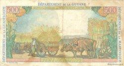 5 Nouveaux Francs sur 500 Francs Pointe à Pitre ANTILLES FRANÇAISES  1962 P.04 TTB