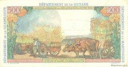 5 Nouveaux Francs sur 500 Francs Pointe à Pitre ANTILLES FRANÇAISES  1962 P.04 SUP