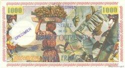 10 NF sur 1000 Francs pêcheur GUYANE  1960 P.31s pr.NEUF
