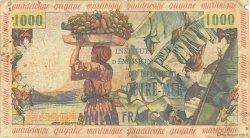 10 Nouveaux Francs sur 1000 Francs Pêcheur ANTILLES FRANÇAISES  1960 P.02 AB