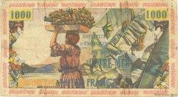 10 Nouveaux Francs sur 1000 Francs Pêcheur ANTILLES FRANÇAISES  1960 P.02 B