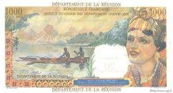20 NF sur 1000 Francs Union Française ÎLE DE LA RÉUNION  1964 P.55b SPL