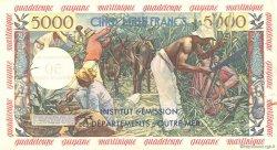 50 Nouveaux Francs sur 5000 Francs Antillaise ANTILLES FRANÇAISES  1960 P.03s SUP+