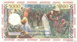 50 Nouveaux Francs sur 5000 Francs Antillaise ANTILLES FRANÇAISES  1960 P.03s pr.NEUF