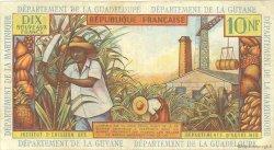 10 Nouveaux Francs type 1962 ANTILLES FRANÇAISES  1962 P.05a TTB