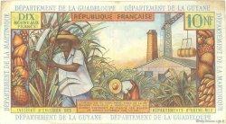 10 Nouveaux Francs ANTILLES FRANÇAISES  1962 P.05a TTB+