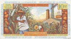 10 Nouveaux Francs type 1962 ANTILLES FRANÇAISES  1962 P.05a SUP+
