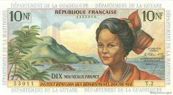 10 Nouveaux Francs type 1962 ANTILLES FRANÇAISES  1962 P.05a SPL