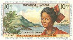 10 Nouveaux Francs type 1962 ANTILLES FRANÇAISES  1962 P.05a NEUF