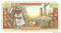 10 Nouveaux Francs ANTILLES FRANÇAISES  1962 P.05a pr.NEUF