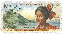 10 Nouveaux Francs type 1962 ANTILLES FRANÇAISES  1962 P.05s SUP