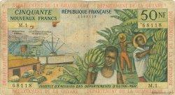 50 Nouveaux Francs type 1962 ANTILLES FRANÇAISES  1962 P.06a B