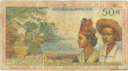 50 Nouveaux Francs ANTILLES FRANÇAISES  1962 P.06a B
