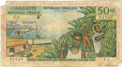 50 Nouveaux Francs type 1962 ANTILLES FRANÇAISES  1962 P.06a pr.TB